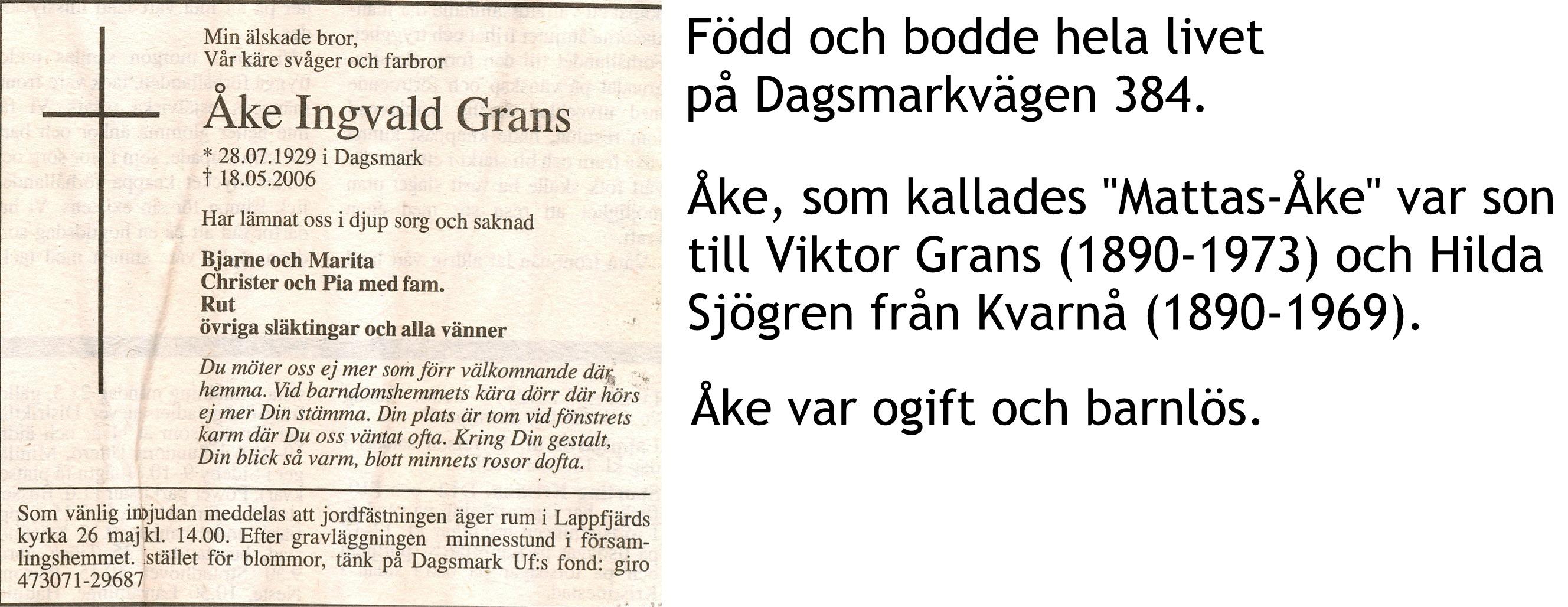 Grans ÅKE