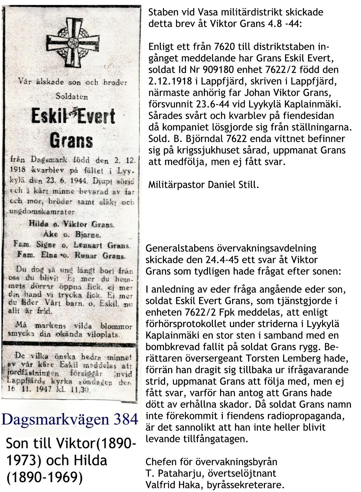 Grans Eskil Evert