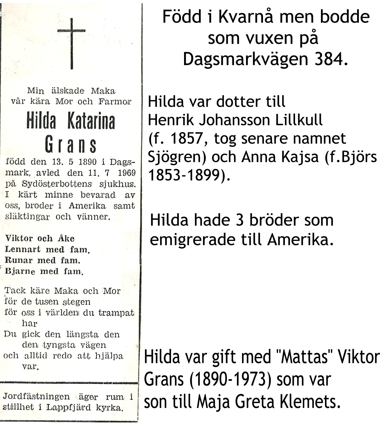 Grans Hilda Katarina