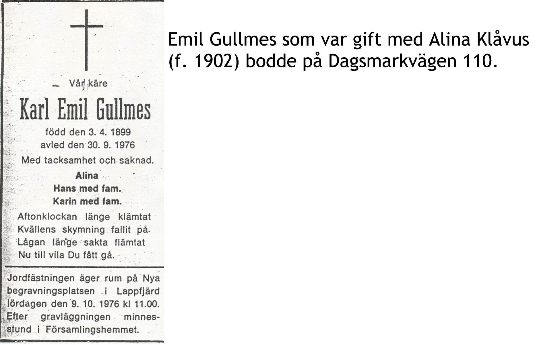 Gullmes Emil