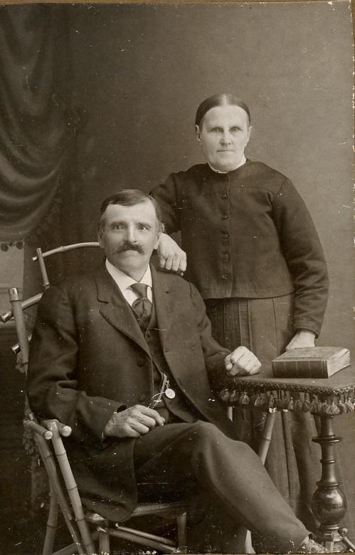 Erik och Maria Sofia Rosenback.