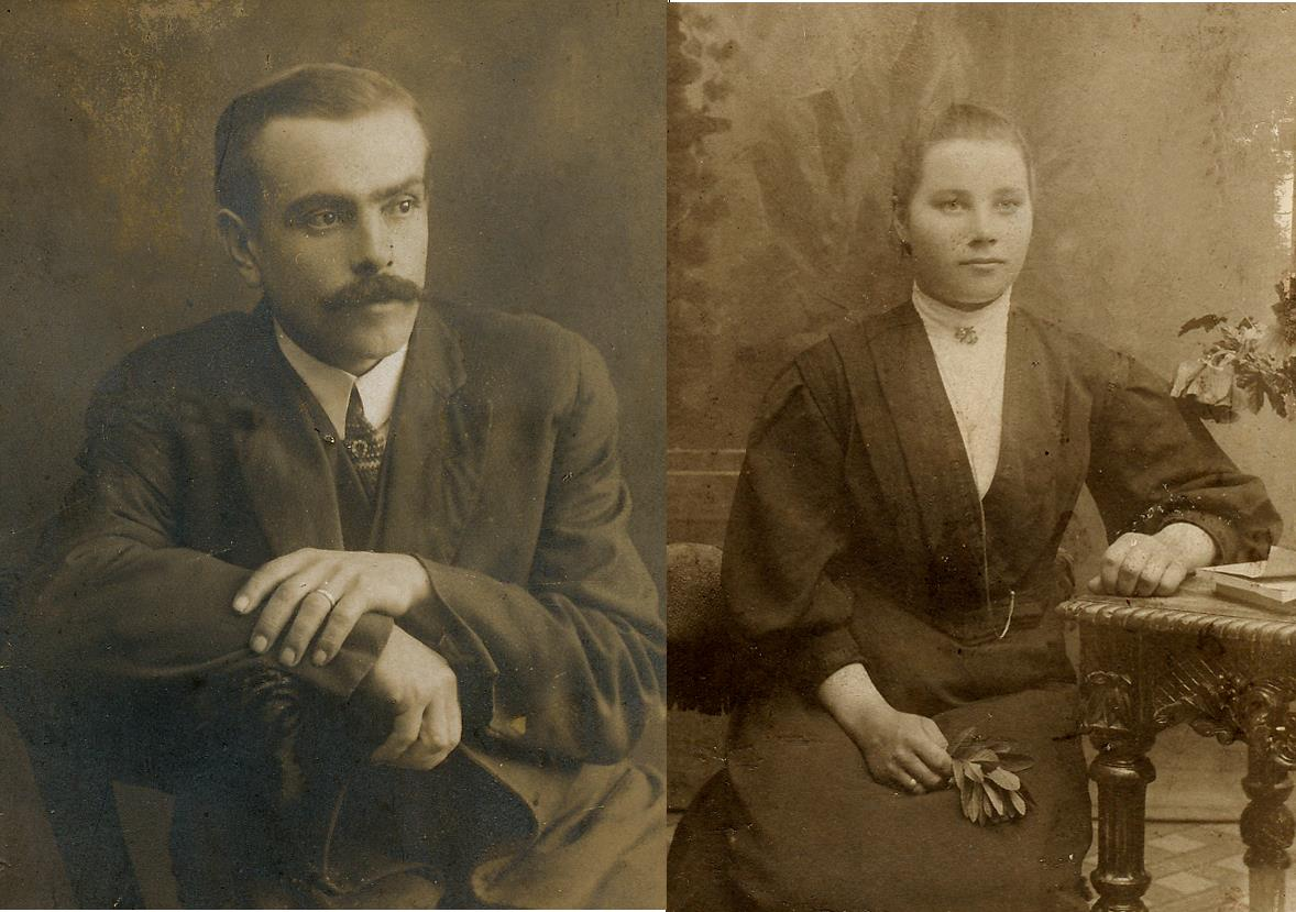 Erland och Alvina Rosenback.