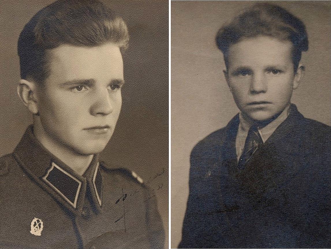 """På bilderna Stig som första gången år 1953 gifte sig med Lilli Hammarberg (f.1935) från Langåsen i Perus. Hon var syster till """"Motta-Elis"""" Hammarberg och de bodde en tid på Langåsen före de flyttade till Sverige. I Perus föddes sonen Sten år 1953 och han flyttade med föräldrarna till Sverige men då de separerade så flyttade Sten till Dagsmark och växte upp där med sin farmor Tilda. På 70-talet flyttade Sten till Värmland till sin mor, där han sedan arbetade som truckförare tills han dog ogift och barnlös år 1982. Efter skilsmässan gifte Stig om sig med Ellisif Johanssen från Norge och med fick han sedan en dotter."""