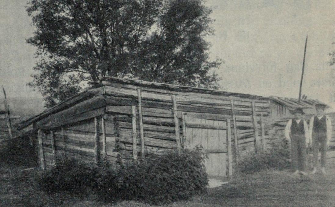 Pärungrop hos Johan Korsbäck uppe i Träsk.