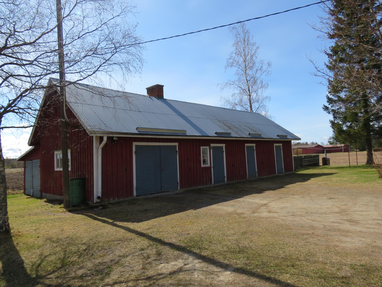 Uthuset på gården hos Rosenbacks användes i tiderna som slakteri, alltså under tid Haga-Anselm bodde här.