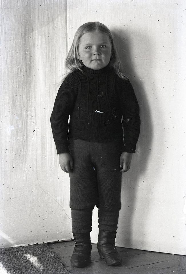 Viktors son Rurik Nylund f. 1907.
