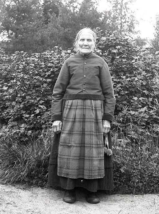 """Viktor Nylunds mor Anna Greta Storkull, men som kallades """"Koll-Anagret""""."""