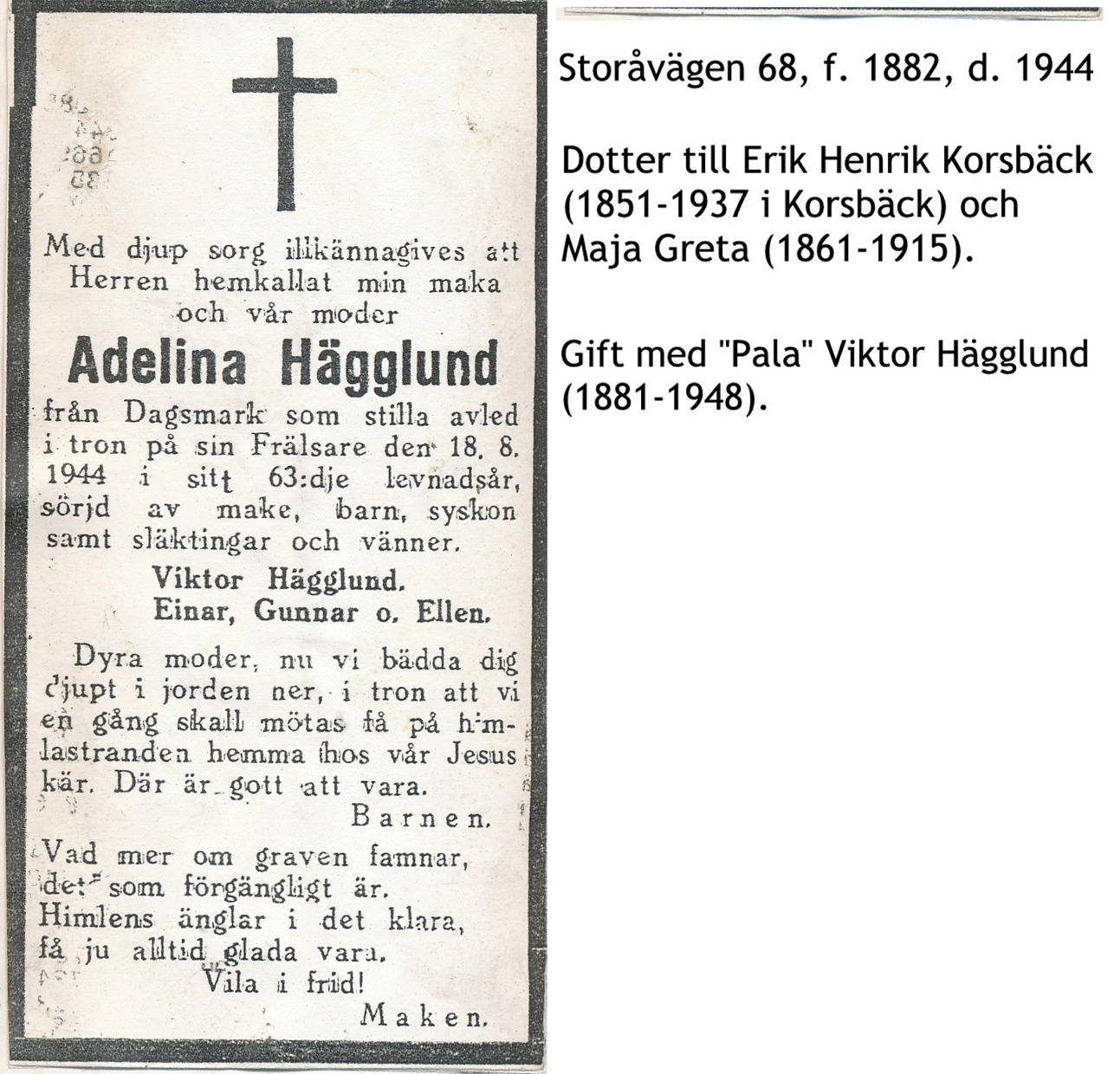Hägglund Adelina