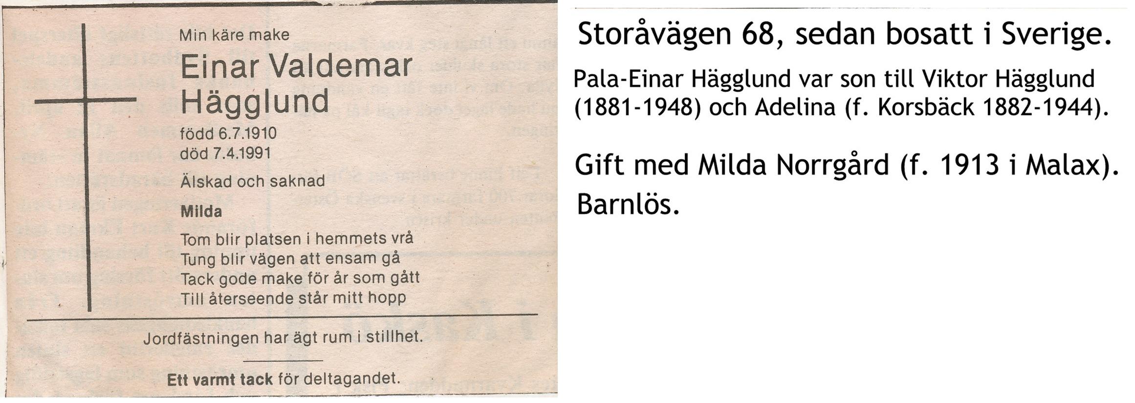 Hägglund Einar
