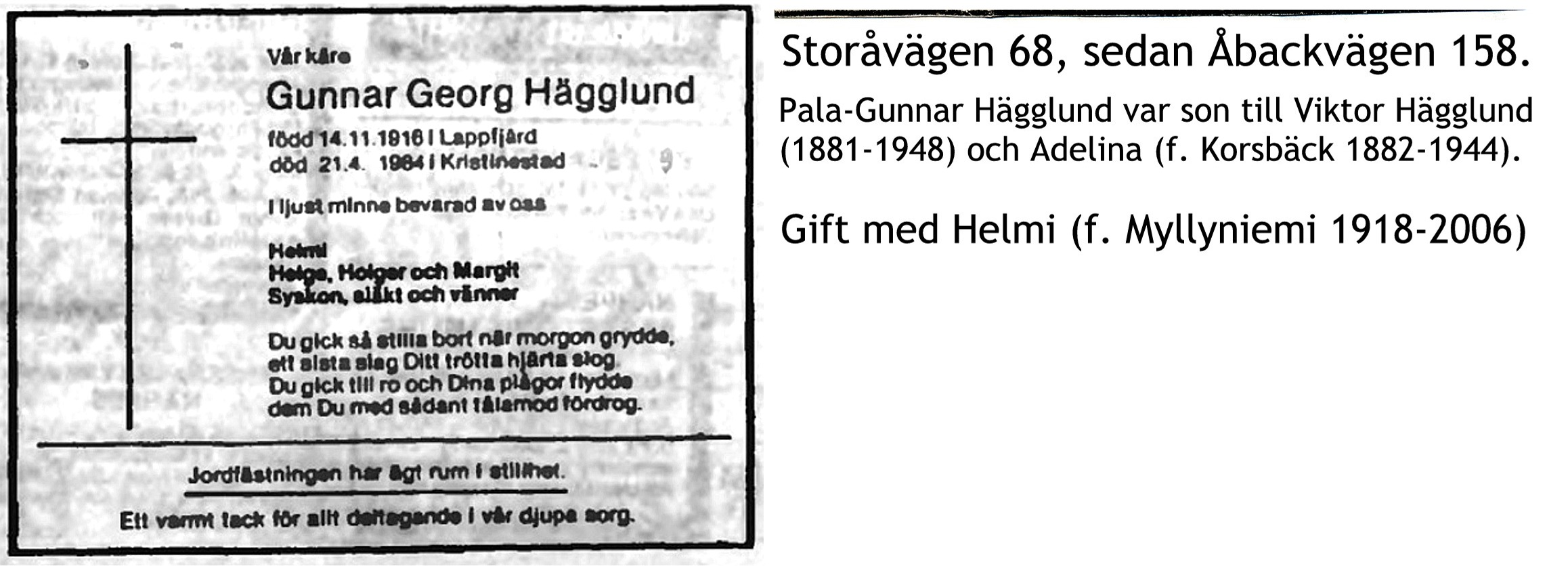 Hägglund Gunnar