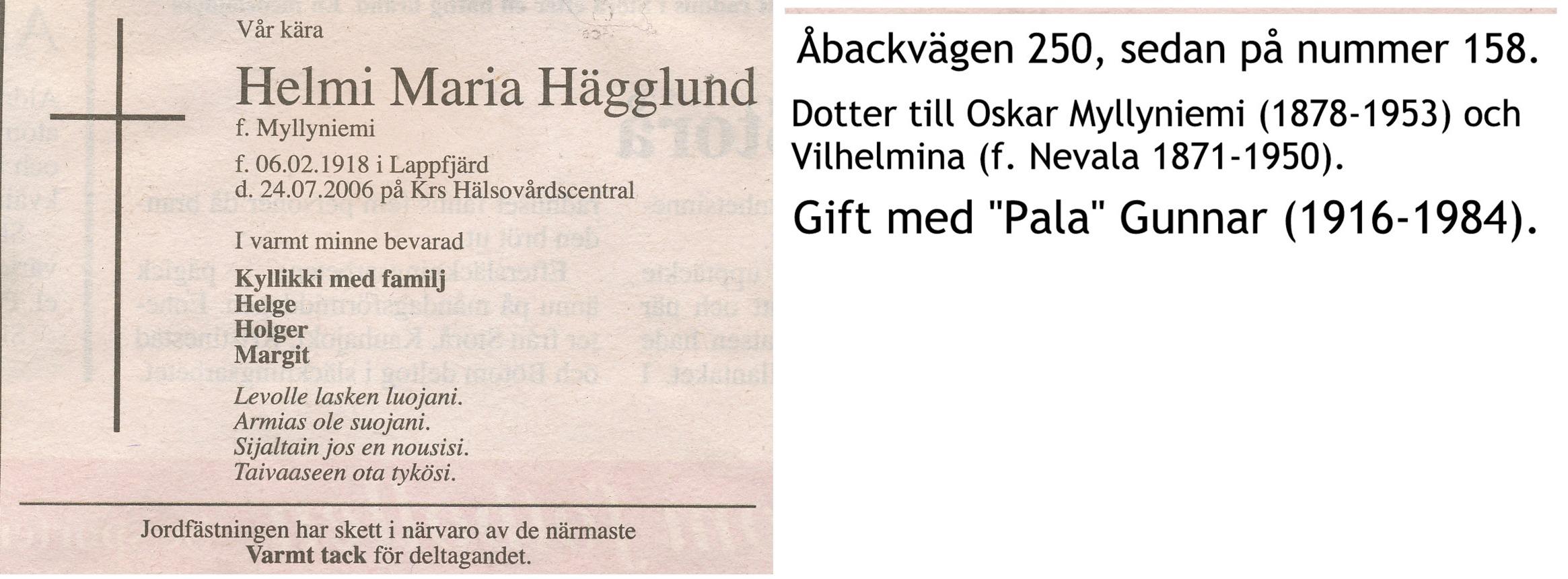 Hägglund Helmi