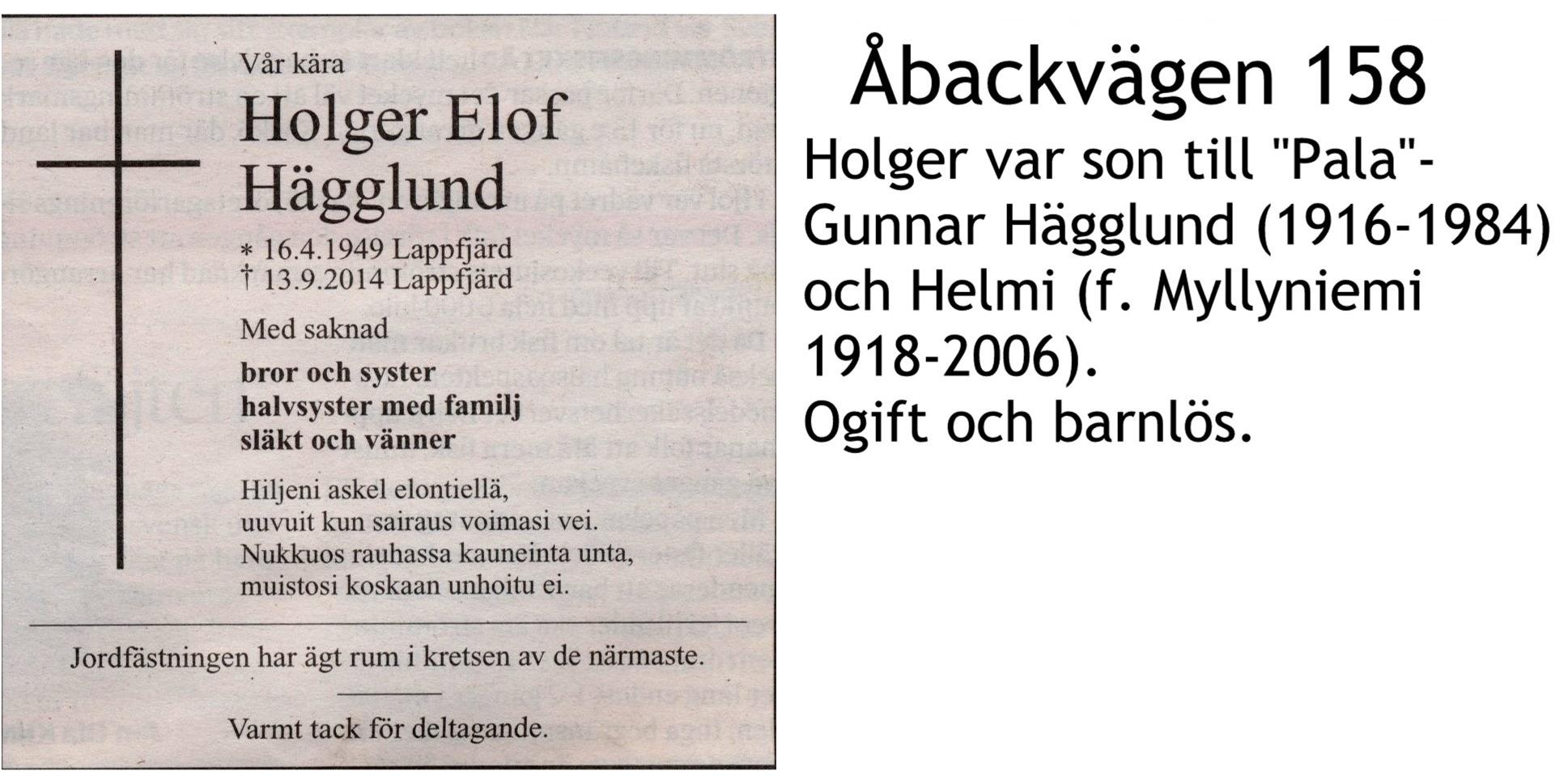 Hägglund Holger