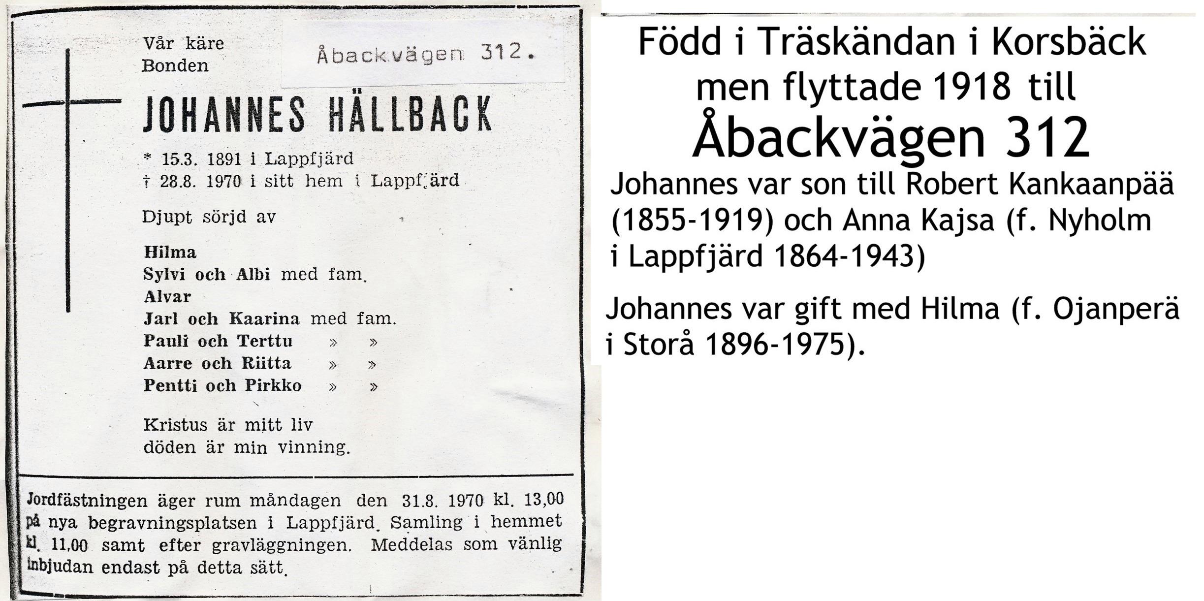 Hällback Johannes