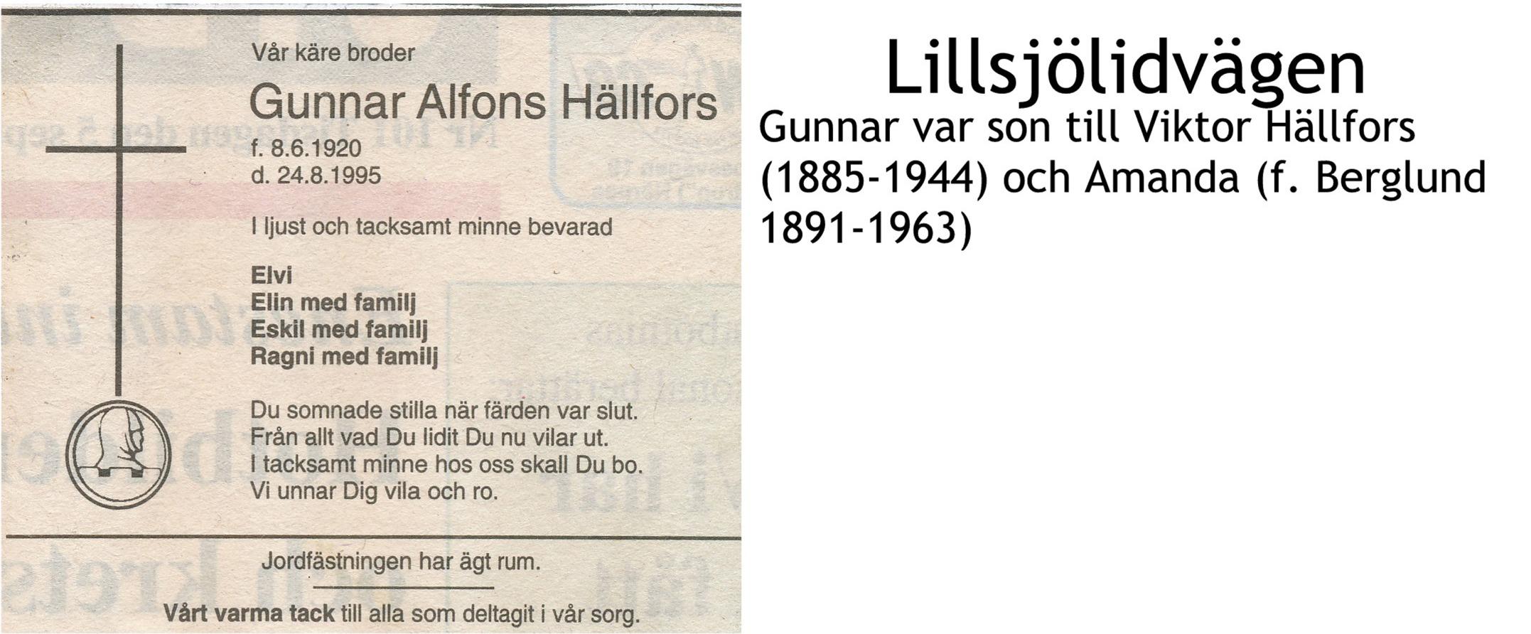 Hällfors Gunnar