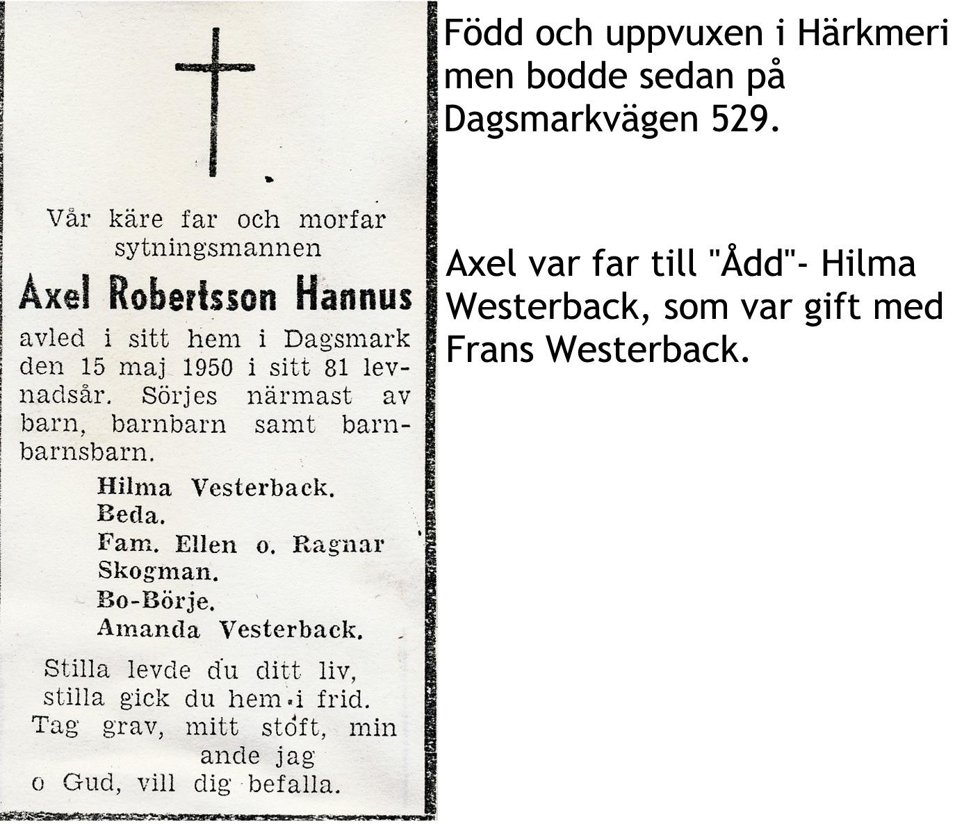 Hannus Axel