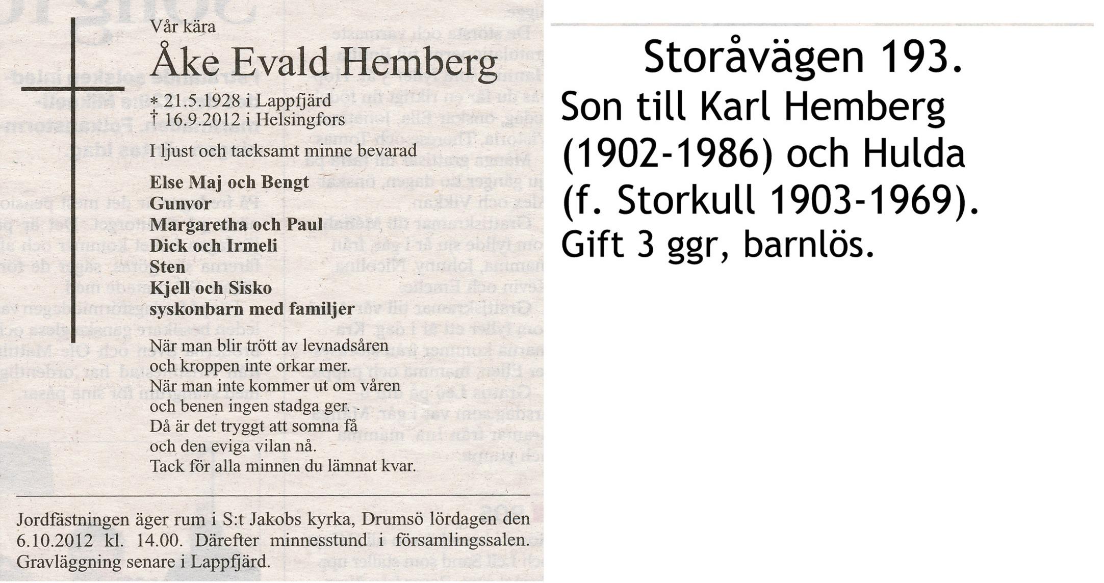 Hemberg Åke