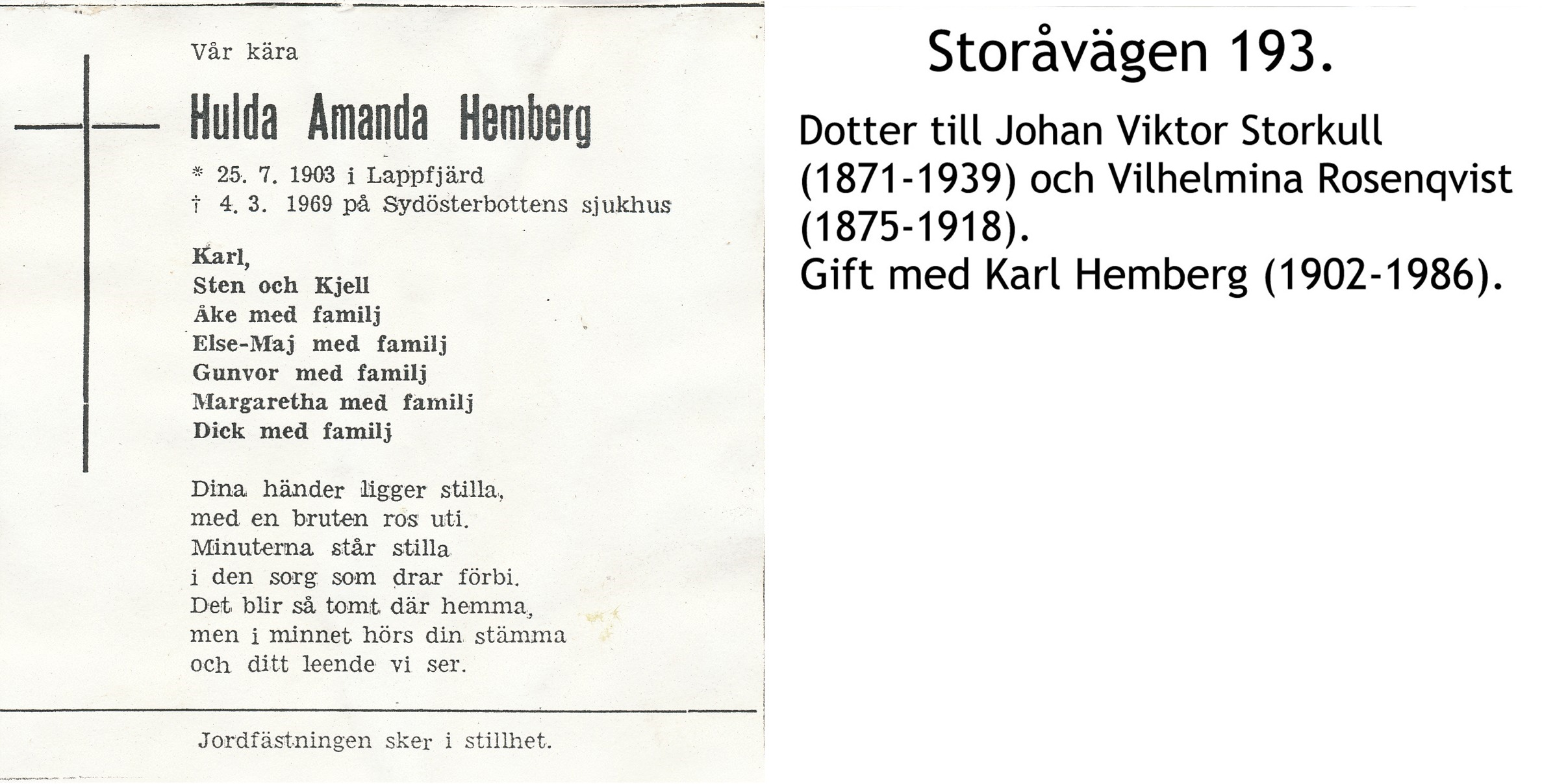 Hemberg Hulda