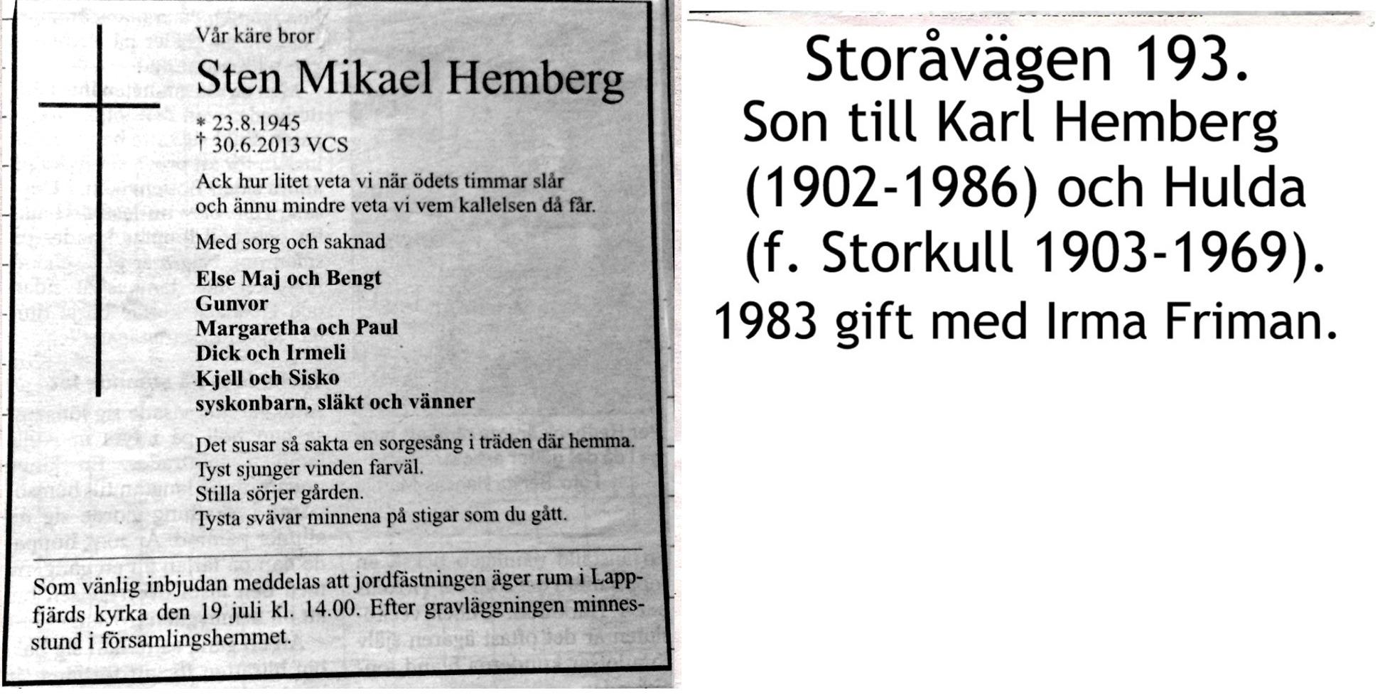Hemberg Sten