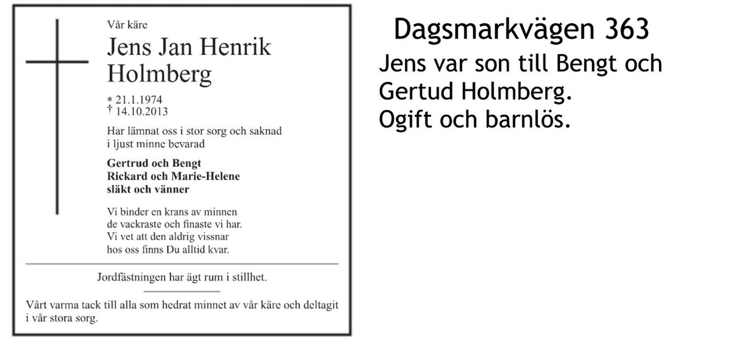 Holmberg JENS