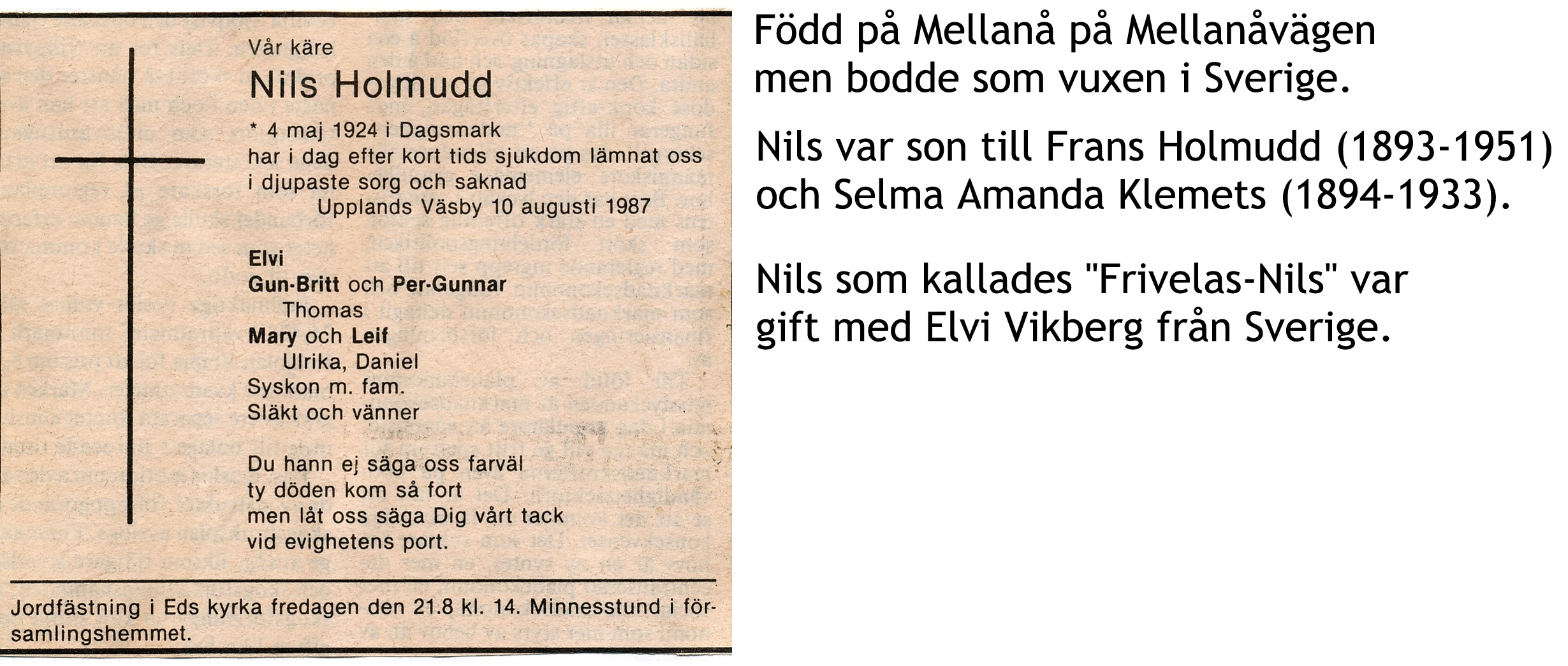 Holmudd Nils