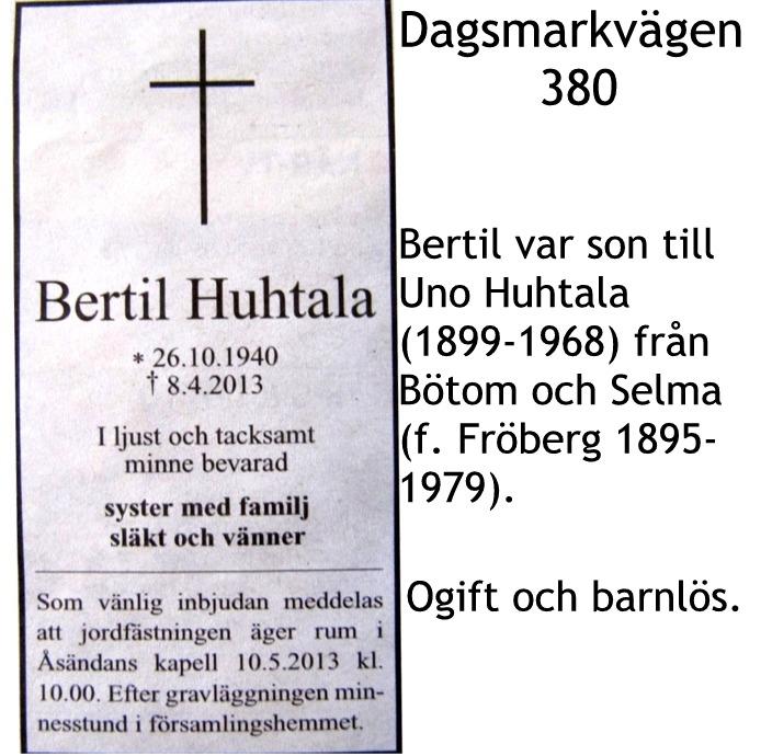 Huhtala Bertil