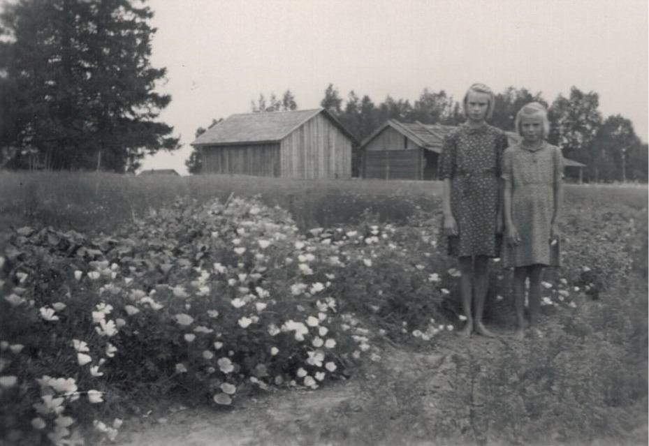 Syskonen Enid och Doris Landgärds i klubblandet bland sömntutor och annat.