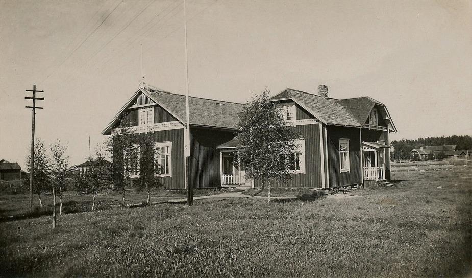 Föreningens första hus, Majbo.