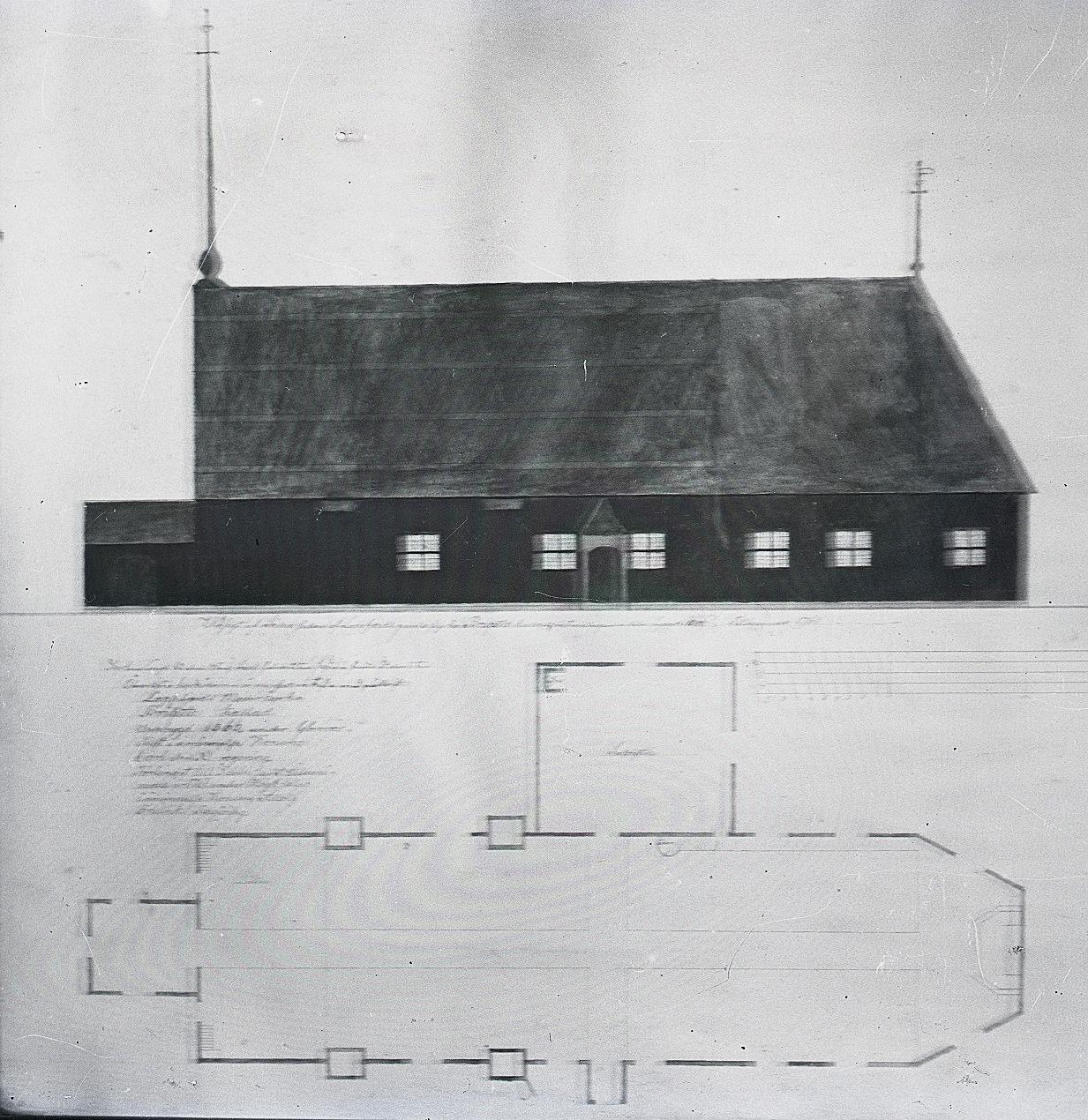 Den första delen av Birgitta kyrkan i Lappfjärds centrum byggdes år 1666, men den förstorades flera gånger. Den sista gudstjänsten hölls 1851 och efter det så revs själva kyrkan, medan själva klockstapel som var av nyare datum flyttades till den nya kyrkans plats, där den fortfarande står.