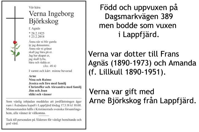 Björkskog Verna