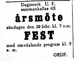 19270216 DUF årsmöte
