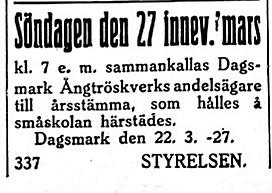 19270323 Dagsmark Ångtröskverkbolag