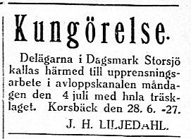 19270629 Storsjö träsk Liljedahl