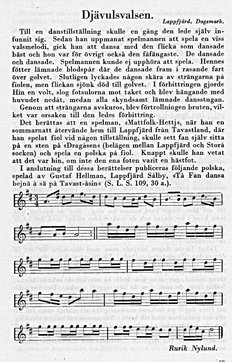 """Den här berättelsen av Rurik Nylund publicerades i tidskriften """"Budkavlen"""" 1.1.1929."""
