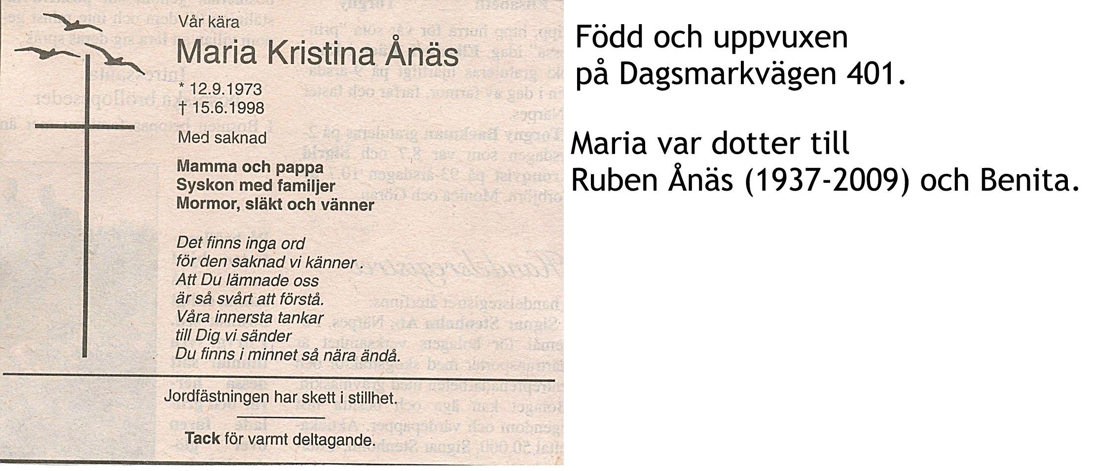 Ånäs Maria Kristina