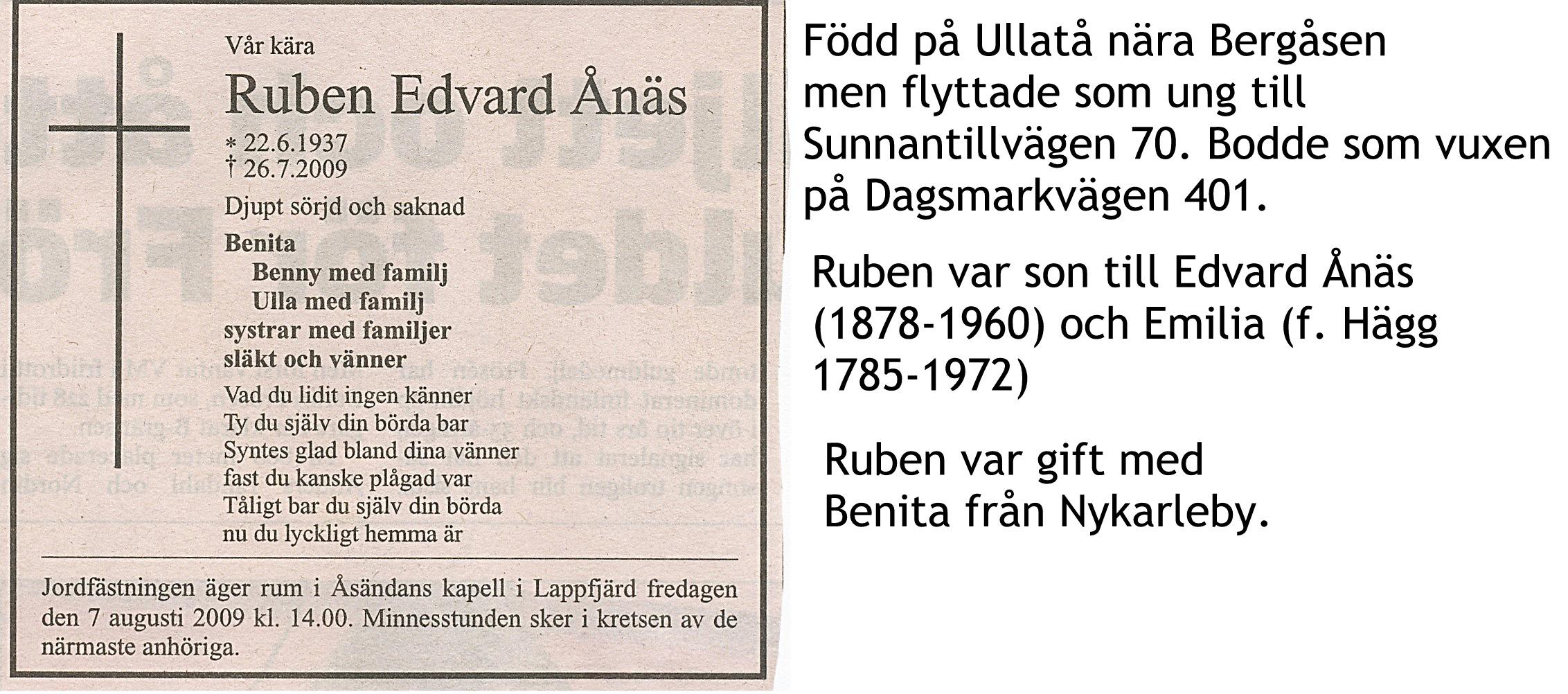 Ånäs Ruben Edvard