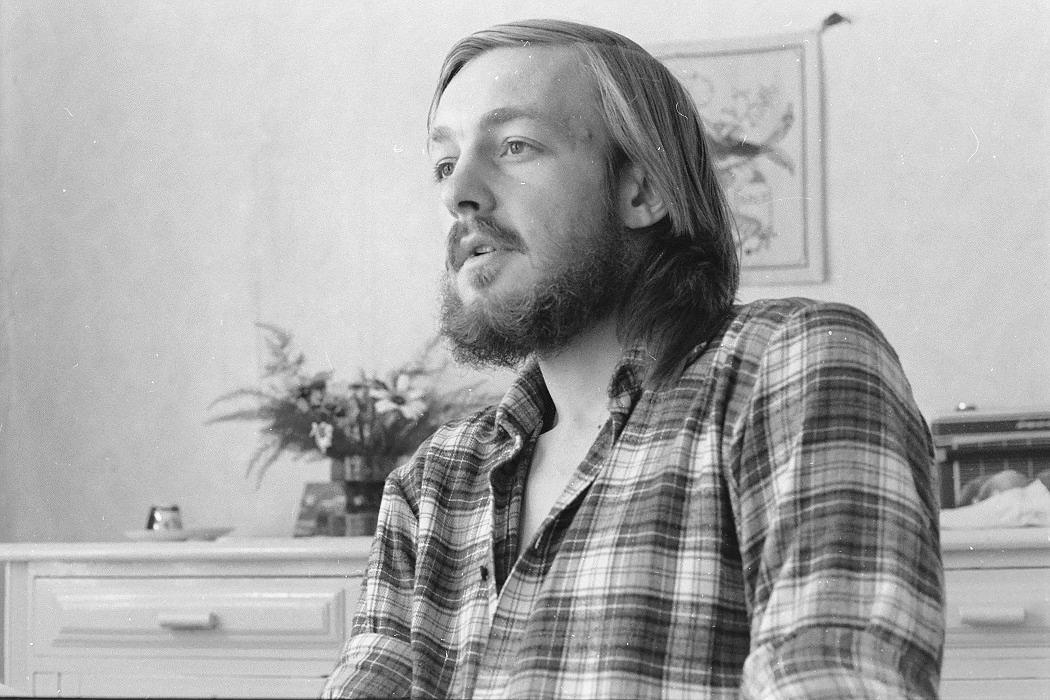 Fotografen Ingmar Rosengård i början på 1970-talet.