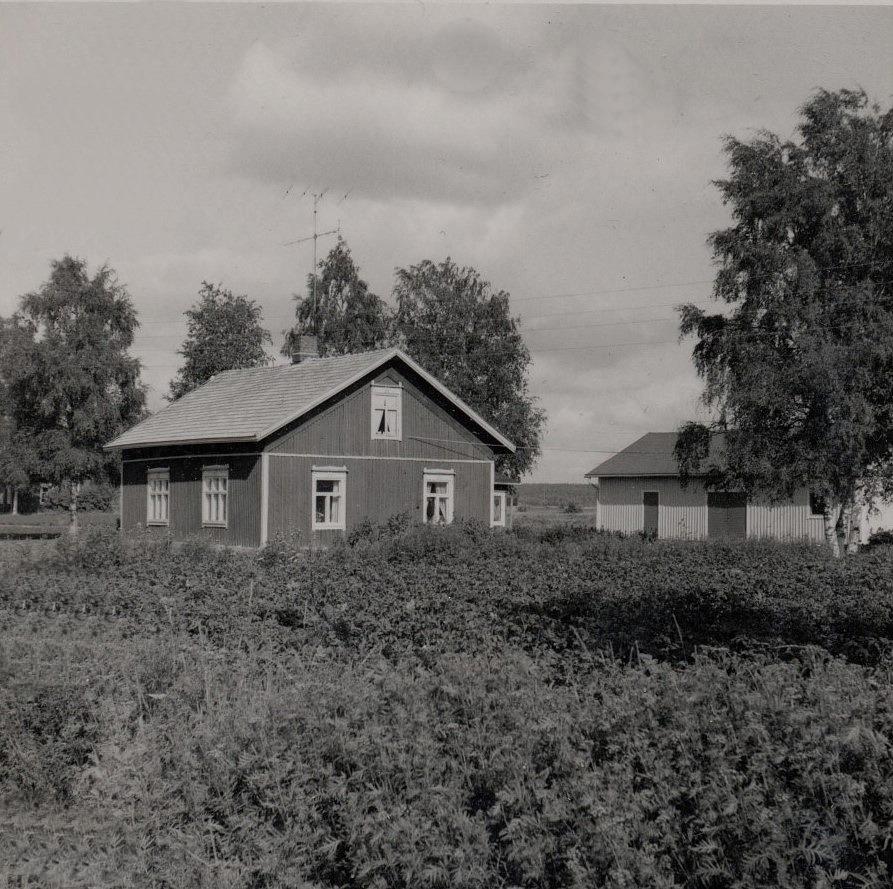 Rosengård Erik Anders gård på Brobackan, som revs i början på 1970-talet.