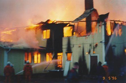 Det blev aldrig klarlagt vad det var som förorsakade branden men den antogs ha fått sin början antingen i pannrummet eller i elcentralen, som båda var belägna i det norra hörnet av lokalen.