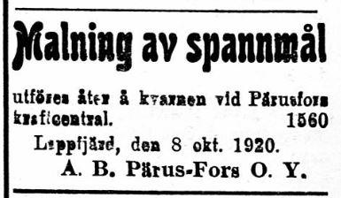 19201009 Pärus Fors malar igen
