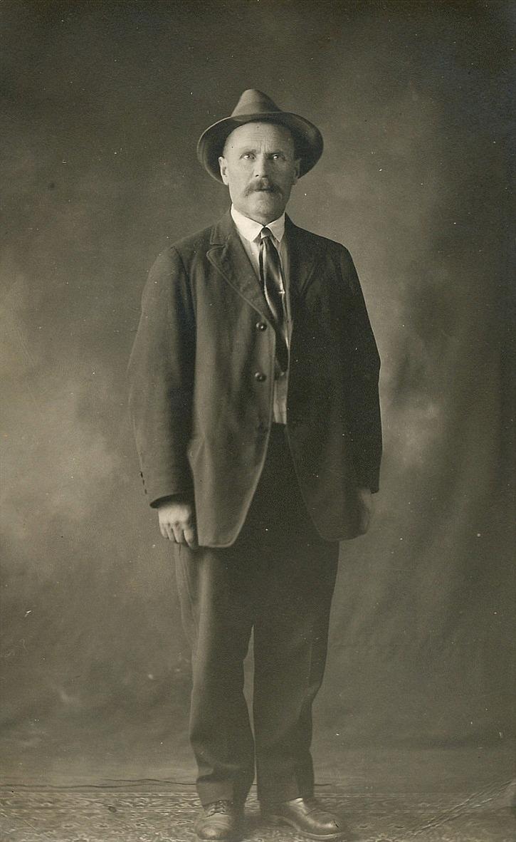 Josef Granholm fotograferad i Canada.