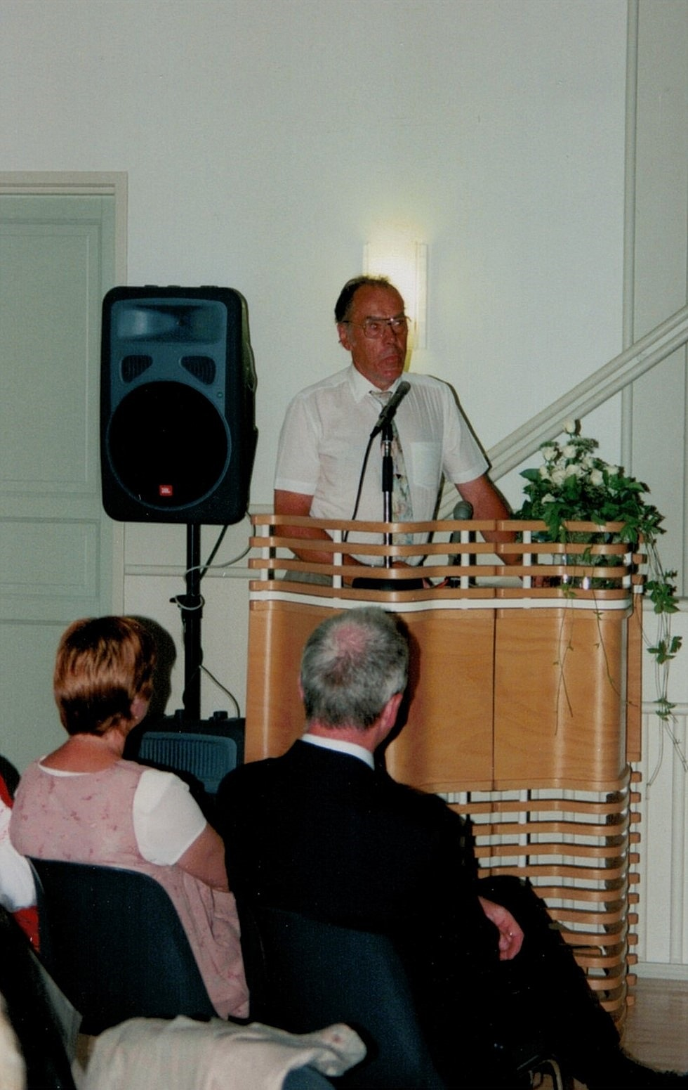 Dagsmark by och dess ungdomsförening har alltid varit viktig för Bjarne Grans i talarstolen.