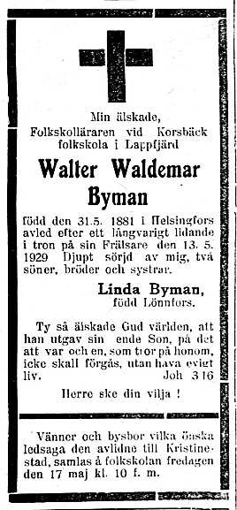 Byman Walter