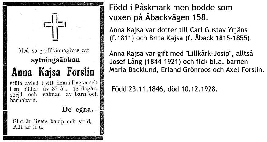 Forslin Anna Kajsa