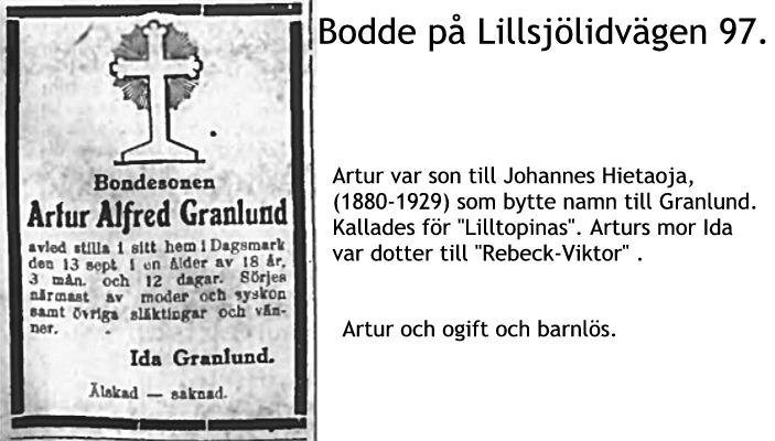 Granlund Artur Alfred