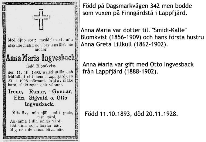 Ingvesback Anna Maria