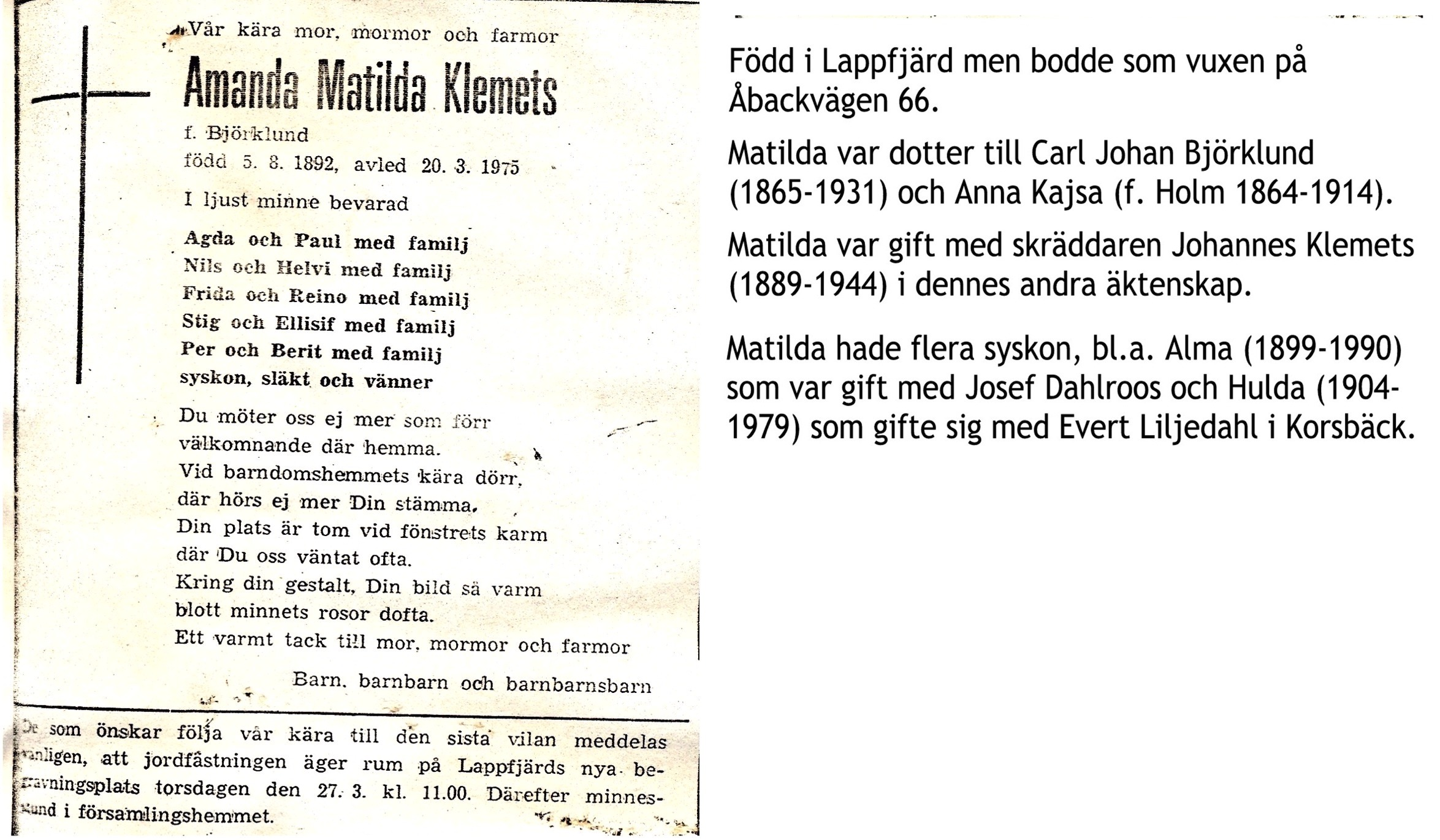 Klemets Matilda
