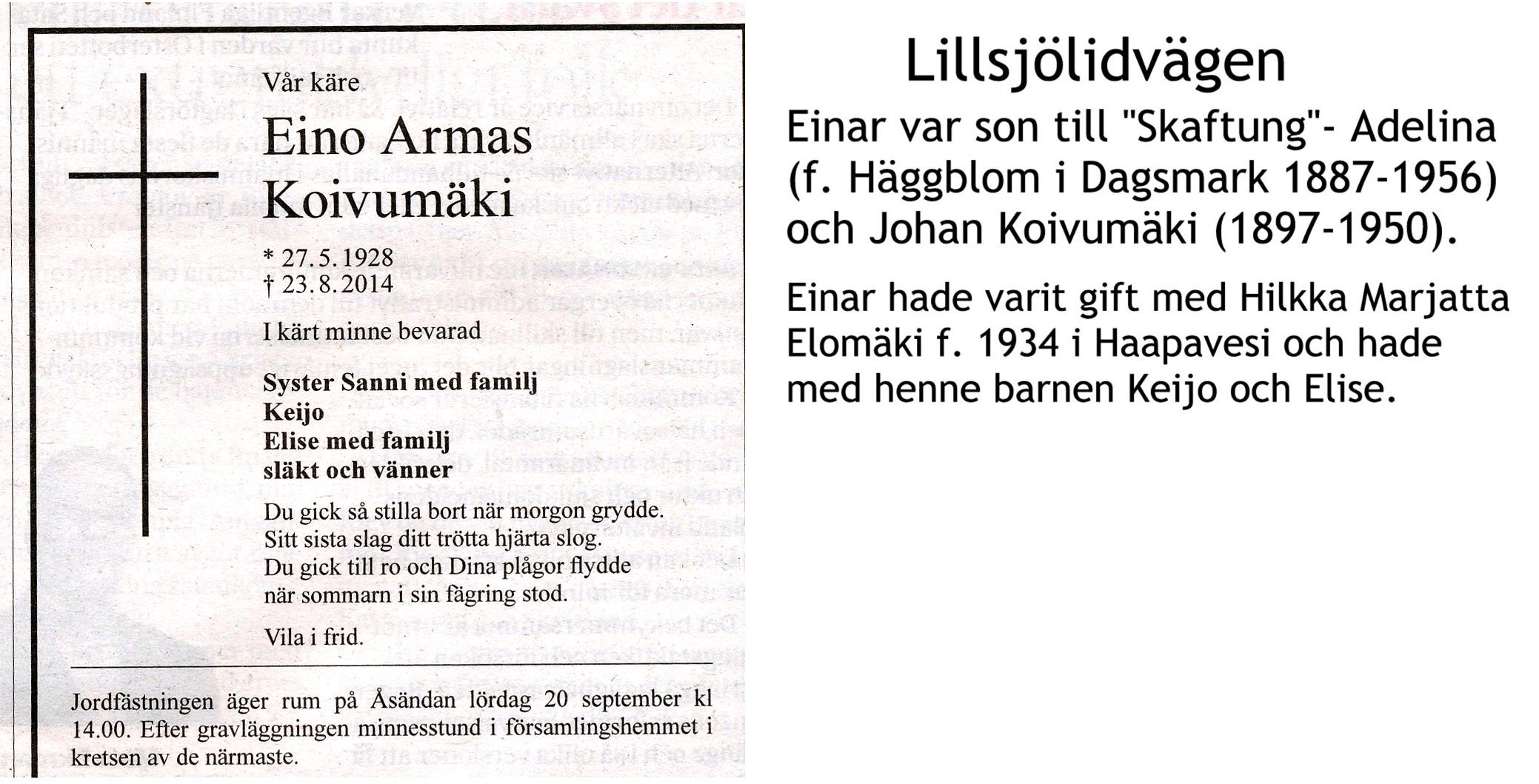 Koivumäki Einar