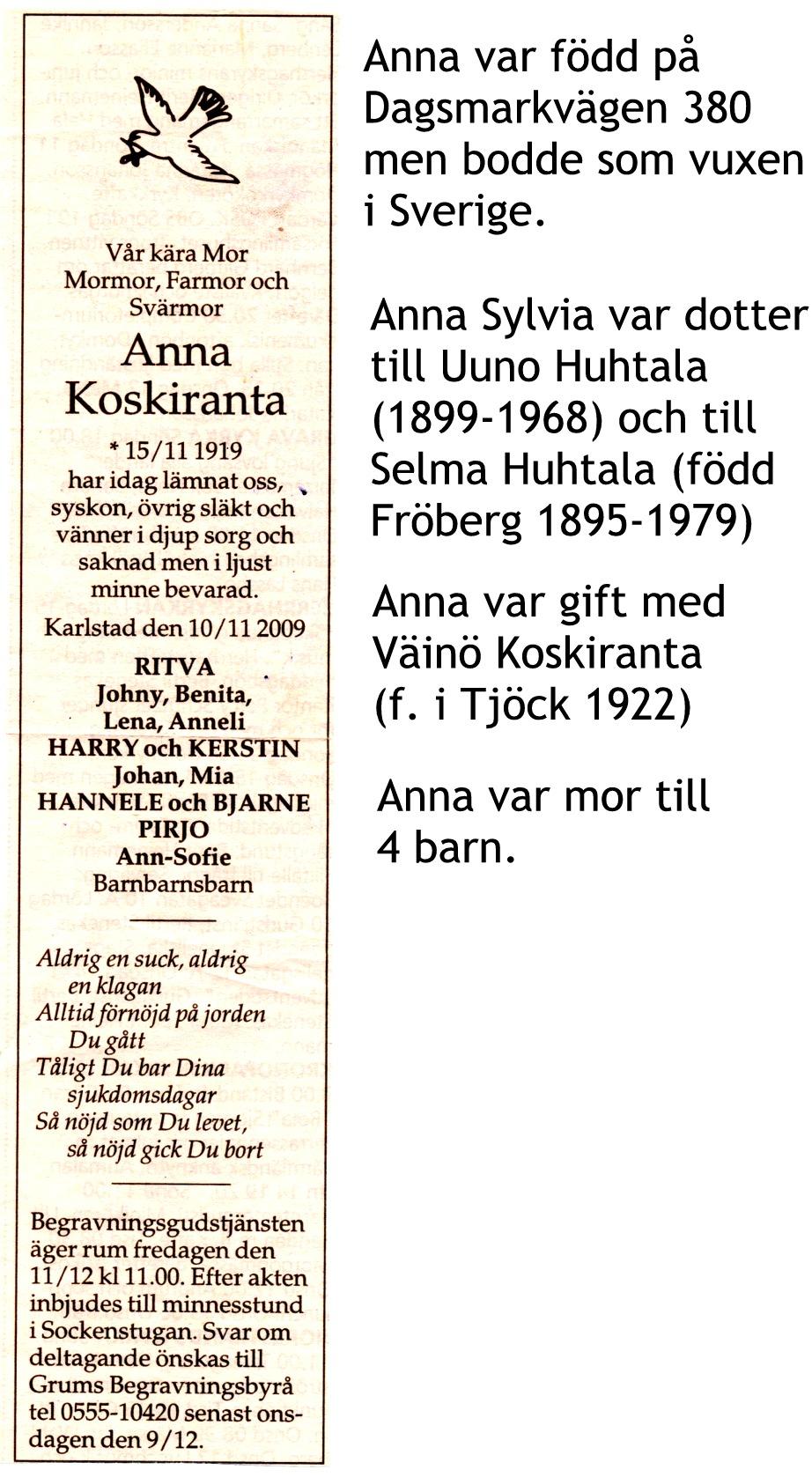 Koskiranta Anna