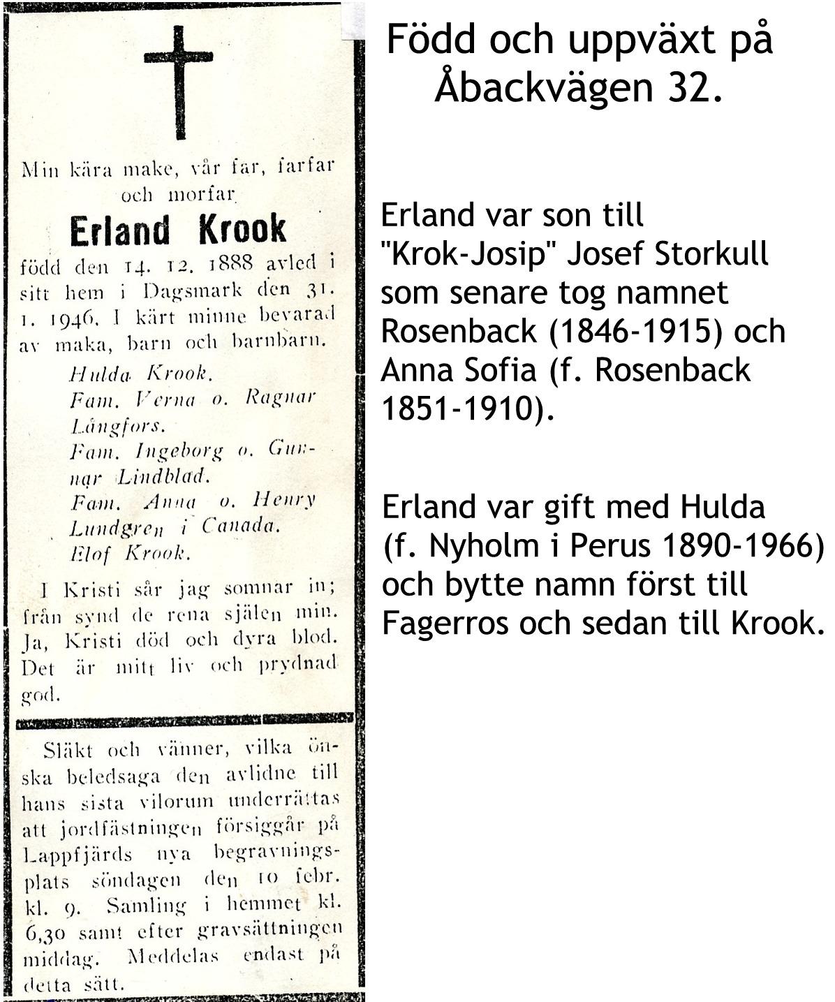 Krook Erland