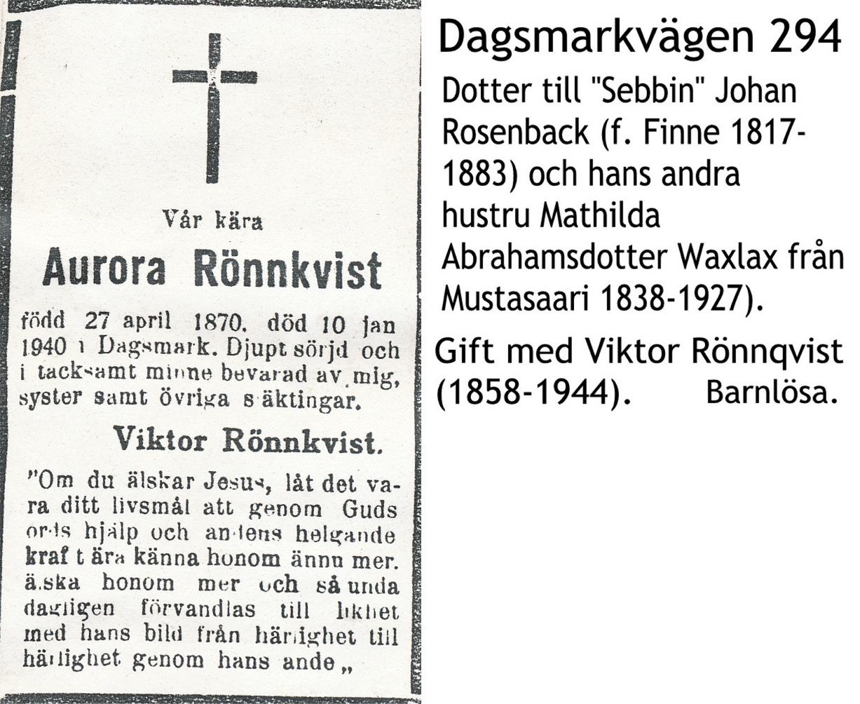 Rönnqvist Aurora